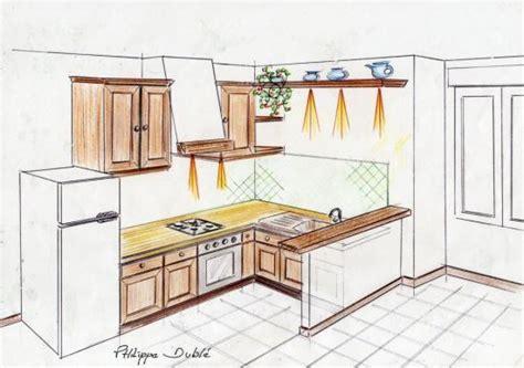 faire plan cuisine attrayant faire un plan de cuisine 1 exemple de plans
