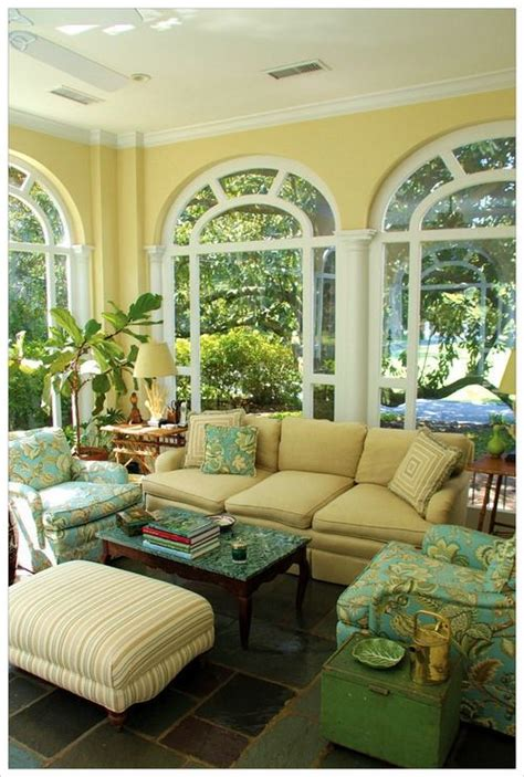 sunporch sunroom i yellow decor sunroom decorating home decor home