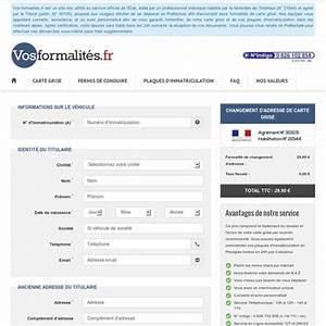 Carte Grise Changement Adresse Gratuit : changement d 39 adresse de carte grise changement d 39 adresse en ligne pearltrees ~ Gottalentnigeria.com Avis de Voitures