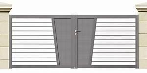 Portail 3 50m : portail alu regate 3 50m cofreco ~ Premium-room.com Idées de Décoration