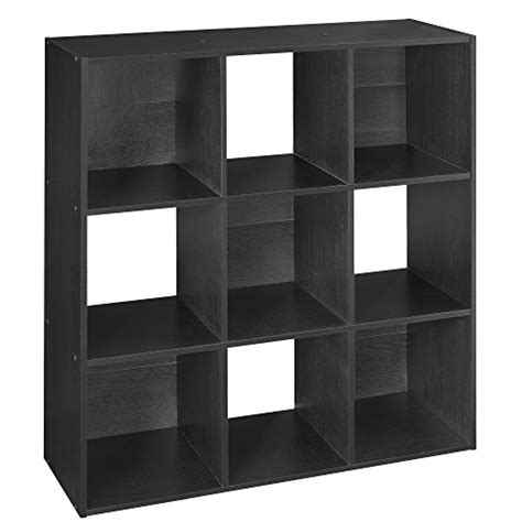 Closetmaid 78016 Cubeicals Organizer, 9cube, Black