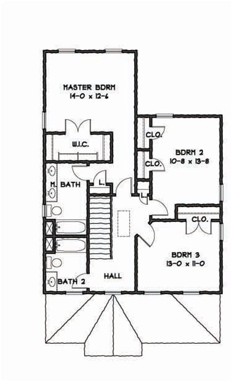 colonial revival style house plan   bedrooms   baths  house designers