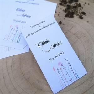 Graines Fleurs Des Champs : mariage sachets pour graines papier blanc fleurs des champs diy ~ Melissatoandfro.com Idées de Décoration