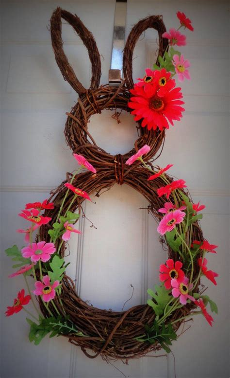 easter door wreaths 15 diy wreath ideas for easter pretty designs