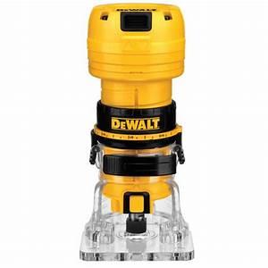 Dewalt Dwe6000 4 5 Amp  31 000 Rpm Laminate Trimmer