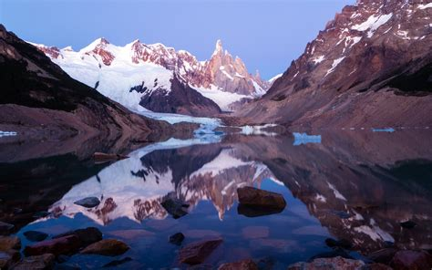 Wallpaper Los Glaciares National Park, Lake, Argentina, 4K