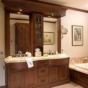 Salle De Bain En Bois : cuisines beauregard salle de bain r alisation 166 mobilier de salle de bain en bois ~ Teatrodelosmanantiales.com Idées de Décoration