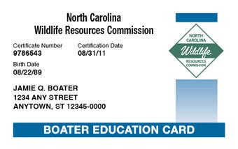 Age For Boating License In Nc by Get Your Nc Boating License Boaterexam 174