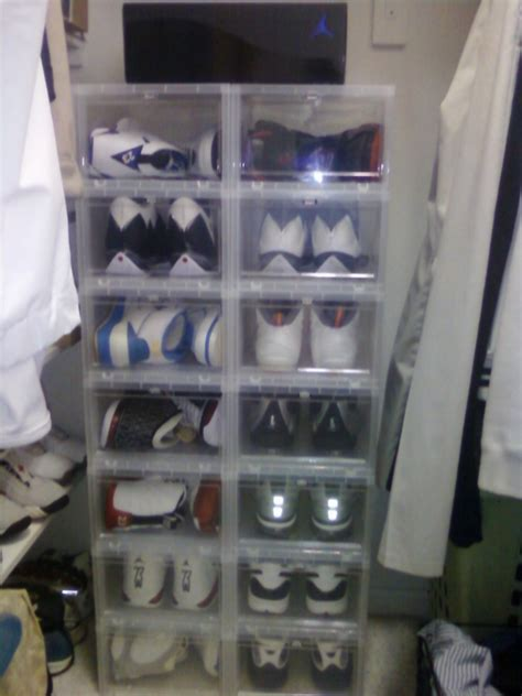Plastic Shoes Boxes From The Container Store Niketalk Shoe