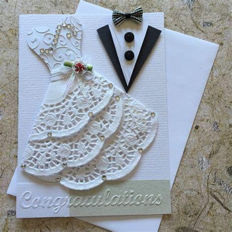 Handmade Wedding Card  Card Ideas  Pinterest Wedding