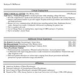 student nurse practitioner resume exles federal resume buildersle nurse practitioner resume sle sle nursing student resume