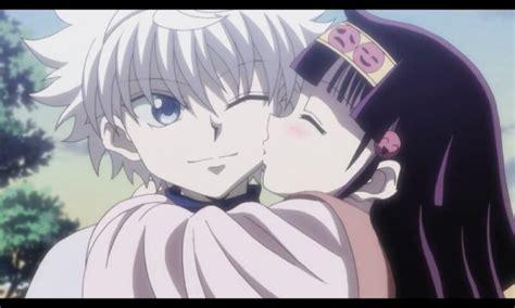 anime kiss hunter x hunter kiss anime hunter 2011