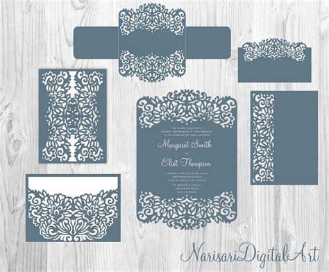 Пин на доске Laser cut Cricut SVG wedding invitation templates