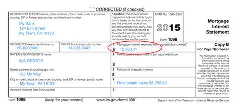 understanding  forms form  mortgage interest