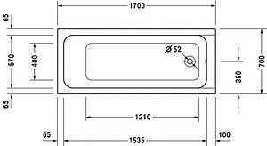 Duravit D Code Bathtubs Baignoire Avec Pieds 700105 By