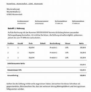 Rechnung Rechtsanwalt Nicht Bezahlen : 1 mahnung f r freiberufler vorlage muster channel ~ Themetempest.com Abrechnung