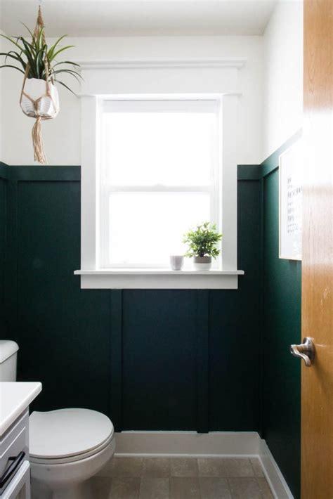 modern green bathroom makeover small stuff counts