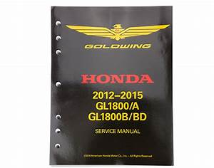 Factory Service Manuals For Gl1800 2012