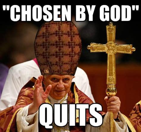 Pope Meme - image 497323 pope benedict xvi s resignation know your meme