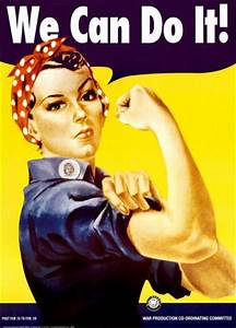 We Can Do It! (Rosie the Riveter) Posters by J. Howard ...