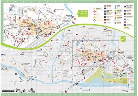 Mairie Ville De Plan De Mairie De Bourg Maurice Plan De La Ville