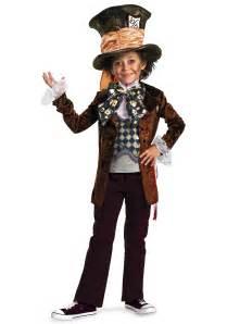 boys costume ideas boys deluxe burton mad hatter costume kids alice in wonderland costumes