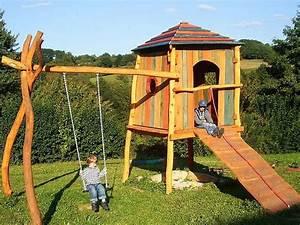 Kinderspielplatz Selber Bauen : die besten 25 spielturm garten ideen auf pinterest spielhaus im freien spielhaus und ~ Buech-reservation.com Haus und Dekorationen