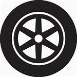 Icon Tire Transport Wheel Icons Mobile Barrier