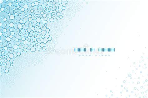 molecular templates stock molecular structure scientific horizontal template stock vector image 32369996