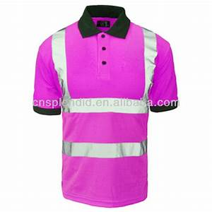 Breathable 3m Men Reflective Safety Work Shirts High