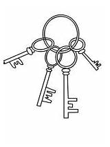 Key Coloring Pages Printable Mycoloring sketch template