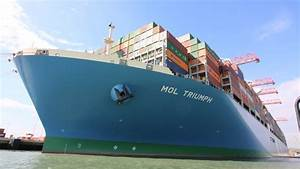 Southampton Hosts Biggest Ship To Dock In UK