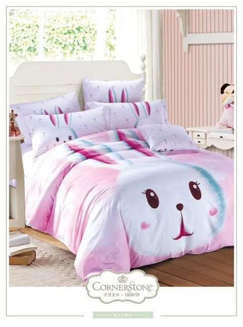 rabbit bedding pink rabbit bedding set size quilt