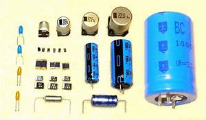 Diagram Of Capacitor