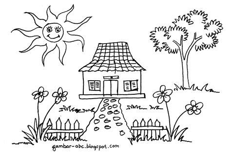 Ahmedatheism Gambar Mewarnai Tema Lingkungan Sekolah
