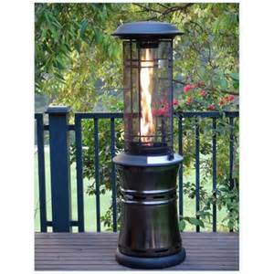 inferno patio heater sears lifestyle santorini inferno patio heater