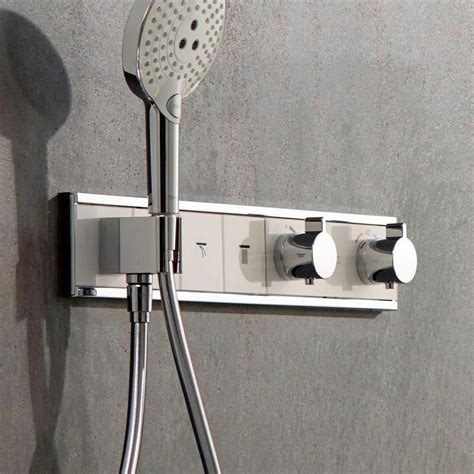hansgrohe rainselect concealed valve   outlets