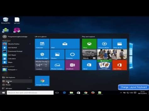 windows    change keyboard layout youtube
