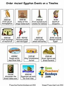 Ancient Egypt timeline - plan and events to order by ...