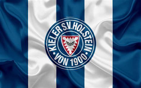 Alle infos zum verein holstein kiel ⬢ kader, termine, spielplan, historie ⬢ wettbewerbe: Download wallpapers Holstein Kiel FC, 4k, blue white silk ...
