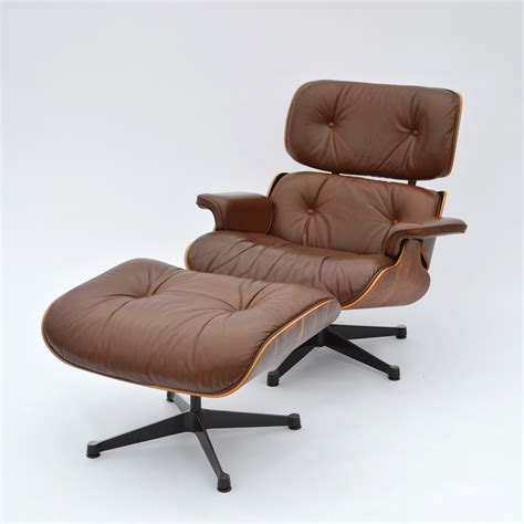 1977 Rio Palisander original Eames Lounge Chair & Ottoman