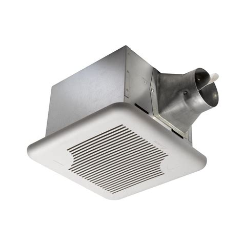 humidity controlled exhaust fan delta breez signature 110 cfm ceiling exhaust fan with