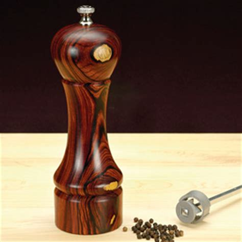 turners select deluxe pepper mill kit projects craft