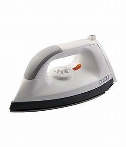 Usha 1602 Dry Iron White Price in India - Buy Usha 1602 Dry Iron White Online on Snapdeal  Iron