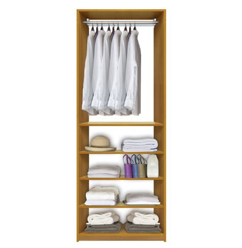 isa closet system hanging clothes above closet shelves