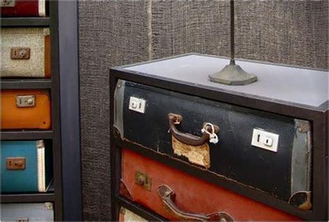 Lade Scrivania Design by Vintage Koffer Ladekasten Plumb Inrichting