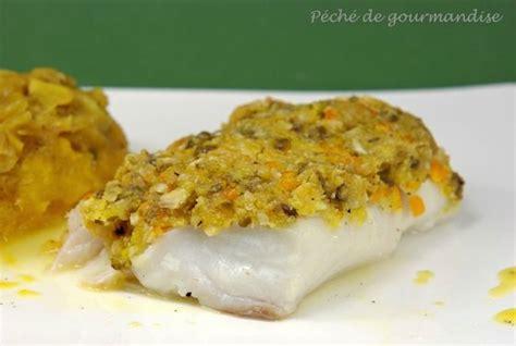 cuisiner un filet de cabillaud dos de cabillaud en croûte d 39 amandes et pistaches