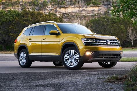 volkswagen suv 2018 volkswagen atlas suv pricing for sale edmunds