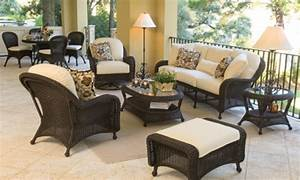 Black Wicker Patio Chairs