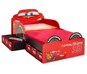 Lightning Mcqueen Bedroom by Camas Infantiles Cama Cars Disney De Madera Con Cajones
